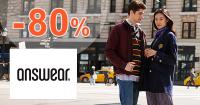 Móda v akcii so zľavami až do -80% na Answear.sk