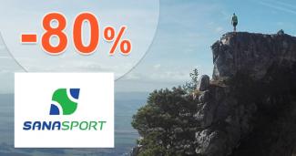 Magický výpredaj -40% až -80% na SanaSport.sk