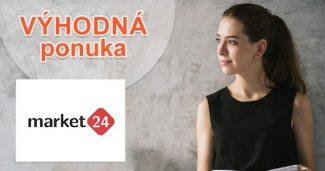 Bazárová ponuka so zľavami na Market24.sk