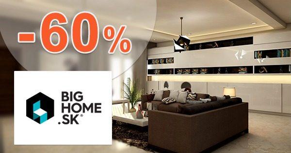 Masívny nábytok v akcii až do -60% na BigHome.sk