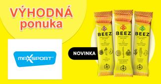 Medové tyčinky Beez ako novinka na MaxSport.sk