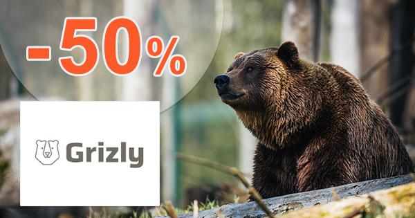 Dopredaj zásob až -50% zľavy na Grizly.sk