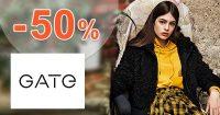 Medzisezónny výpredaj -50% na VŠETKO na GATE