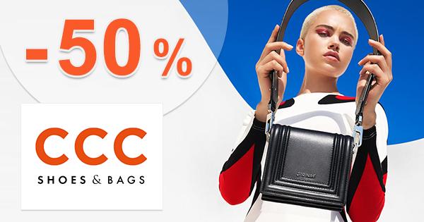 Medzisezónny výpredaj až do -50% zľavy na CCC.eu