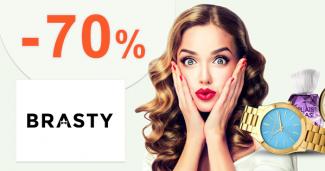 Mega výpredaj až -70% zľavy na Brasty.sk