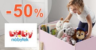 Megavýpredaj až -50% zľavy na BabyNabytek.sk