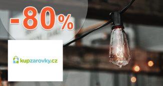 Megazľavy až -80% zľavové akcie na KupZarovky.cz
