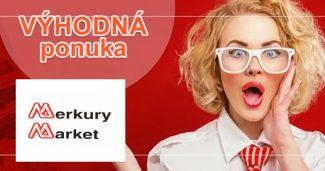 Aktuálne zľavy a akciový tovar na MerkuryMarket.sk