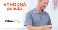 Vyskúšajte si výživový doplnok Vitamín K2 na mesiac zadarmo. Objednajte na VitaminK2.sk. Platíte iba 1,95€ za poštovné a balné.