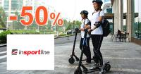 Mestské elektrokolobežky až -50% na inSPORTline
