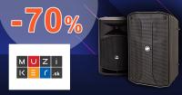 Množstevné zľavy až -70% zľavy na Muziker.sk