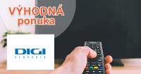 Vyše 130 TV programov od 8€ na DigiSlovakia.sk