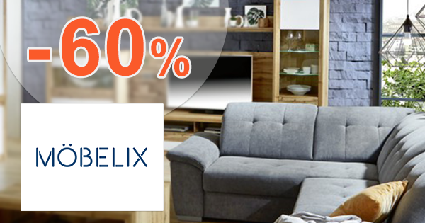 Nábytok do obývačky až -60% zľavy na Mobelix.sk