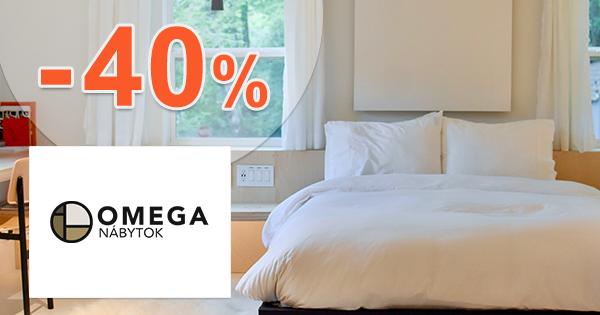 Nábytok do spálne až -40% na Omega-nabytok.sk