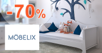 Nábytok pre detské izby až -70% na Mobelix.sk