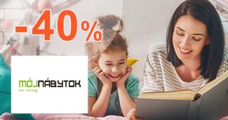 Nábytok z masívu až -40% na MojNabytok.sk