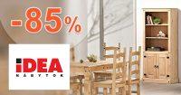 Nábytok v akcii až -85% zľavy na IDEA-nabytok.sk