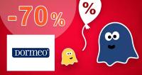 Nákazlivé ZĽAVY a akcie až do -70% na Dormeo.sk