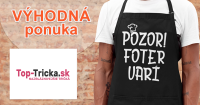 Najbláznivejšie zábavné zástery na Top-Tricka.sk