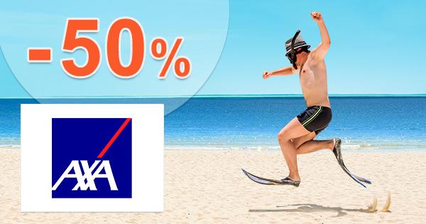 Najlepšie cestovné poistenie -50% zľava na AXA-assistance.sk