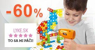 Najpredávanejší tovar až do -60% zľavy na Lyke.sk