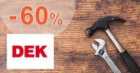 Náradie v akcii so zľavami až do -60% na DEK.sk