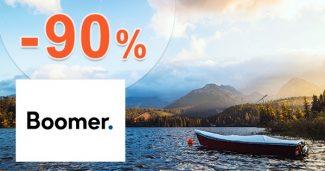 Obľúbené pobyty v zľave až do -90% na Boomer.sk
