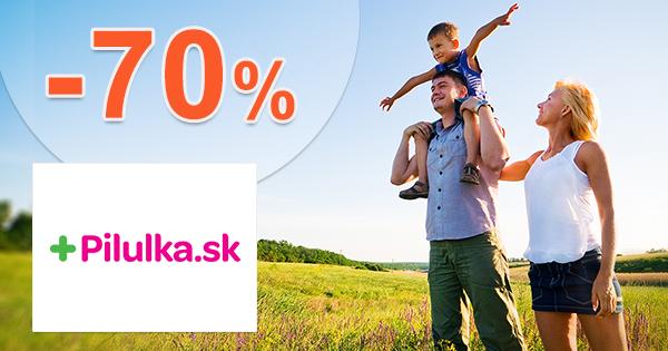 Novoročný výpredaj až -70% na Pilulka.sk