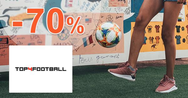 Futbalové vybavenie až -70% na Top4football.sk