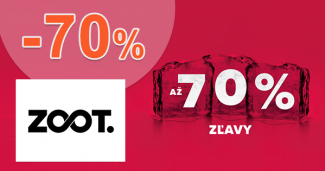 Novoročný výpredaj až -70% na ZOOT.sk