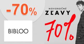 Novoročný výpredaj až -70% zľavy na Bibloo.sk
