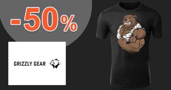 Oblečenie a doplnky až -50% na GrizzlyGear.com