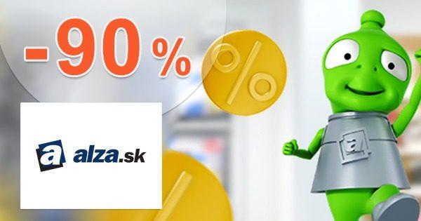Obrovský VÝPREDAJ so zľavami až -90% na Alza.sk