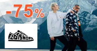 Obuv a oblečenie až -75% zľavy na FootShop.sk