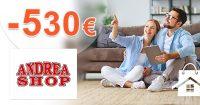 Okamžitá ZĽAVA až do -530€ na AndreaShop.sk