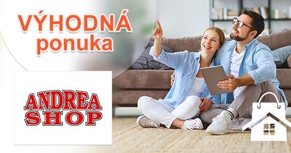 Okamžitá extra zľava k nákupu na AndreaShop.sk
