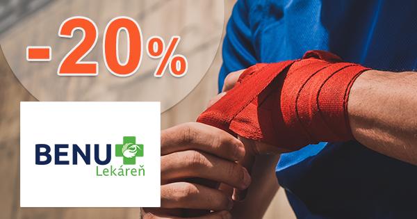 Športové potreby a výživa až -20% na BenuLekaren.sk