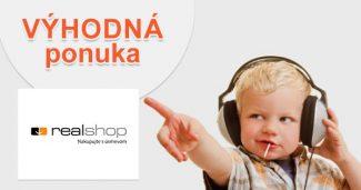 Osobné prevzatie zdarma k nákupu na RealShop.sk