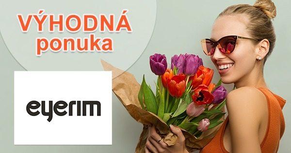 Outlet okuliarov so zľavami na Eyerim.sk