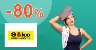 Výpredaj dverí až do -80% zľavy a akcie na SIKO.sk