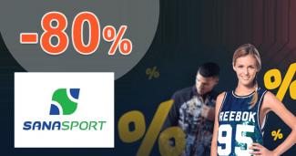 Outlet výpredaj až -80% na SanaSport.sk