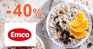 Akcia na kaše až -40% zľavy na Emco.sk