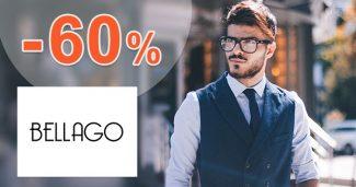 Pánska móda v akcii až do -60% zľavy na Bellago.sk