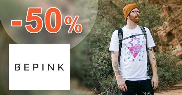 Pánska móda v zľave až do -50% na BePink.sk