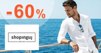 Pánske oblečenie v akcii až -60% na Shopinguj.sk