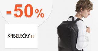 Pánsky sortiment v akcii až -50% na Kabelecky.sk