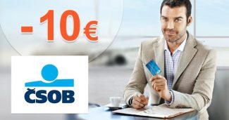 Palivová karta 10€ ako darček k PZP na ČSOB.sk
