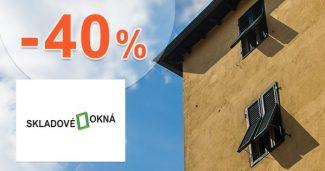 Bazárové okná až -40% zľavy na Skladove-okna.sk