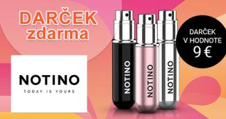Plniteľný rozprašovač parfémov zadarmo na Notino.sk