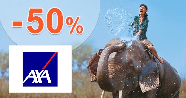 Poistenie do zahraničia online -50% zľava na AXA-assistance.sk